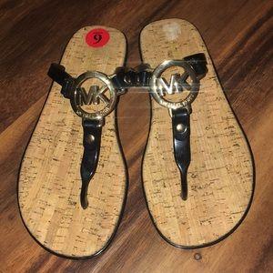 Michael Michael Kors Jelly Cork Flipflop Sandals